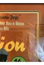 SPV Pulp Fiction 1994 One Sheet Lucky Strike Withdrawn Advance Original Movie Poster Framed