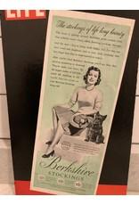 SPV C. 1950 Life Magazine Cardboard Advertising Display Sign
