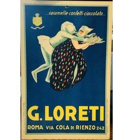 SPV Original G,Loreti Advertisement Display Poster