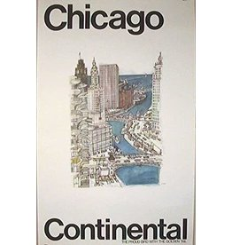 SPV Chicago. Continental. The Proud Bird with the Golden Tail.