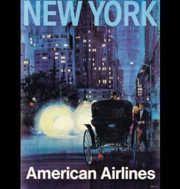 SPV V.K. NEW YORK / AMERICAN AIRLINES. Circa 1965.