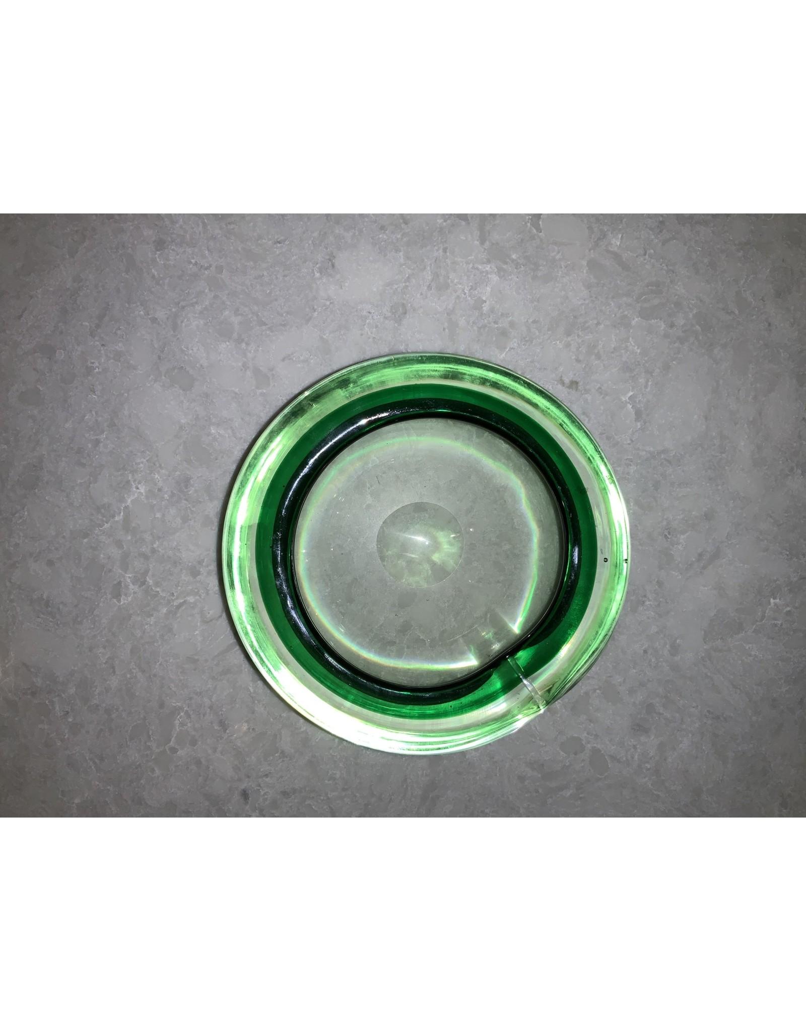 SPV Green Glass MCM Ashtray