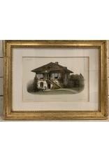 SPV Set of 3 Maison Champetre. Habitations Champetres. By Victor Petit
