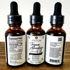 Dreem Dreem Terpene Advantage CBD Oil-30mL/500mg