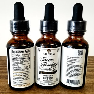 Dreem Terpene Advantage CBD Oil - 30mL - 17mg/500mg