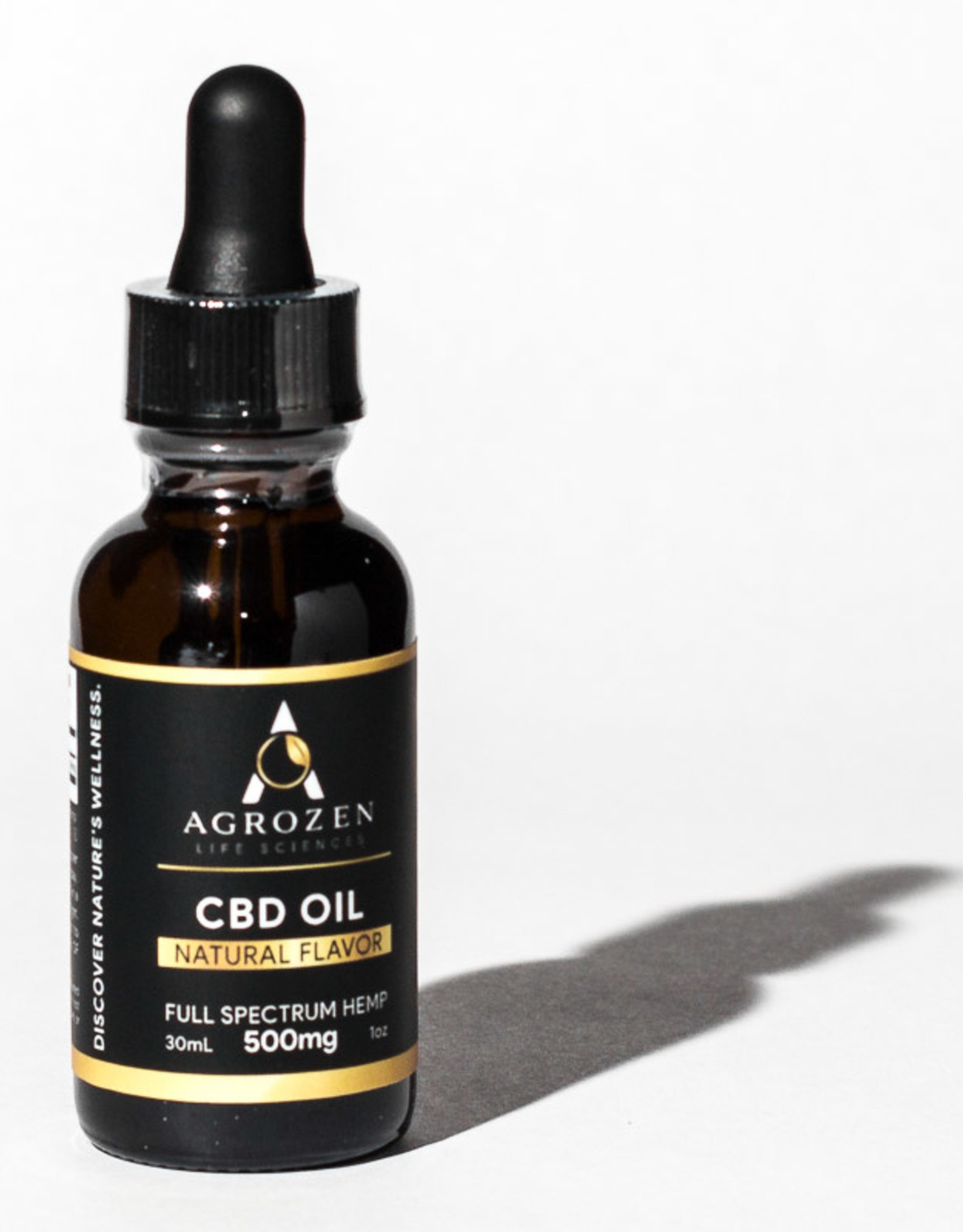 Agrozen Natural Full Spectrum CBD Oil - 30mL - 17mg/500mg