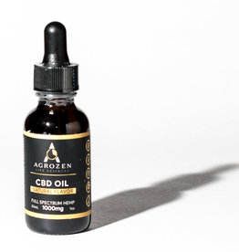 Agrozen Agrozen Natural Full Spectrum CBD Oil - 30mL - 33mg/1000mg