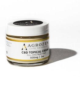 Agrozen Agrozen Orange Blossom CBD Topical Cream - 500mg/2oz