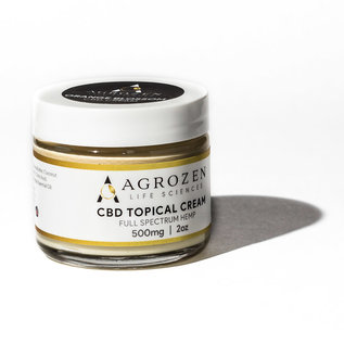 Agrozen Orange Blossom CBD Topical Cream - 500mg/2oz