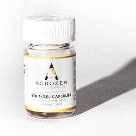 Agrozen Agrozen SoftGel CBD Capsules - 30ct - 20mg/600mg