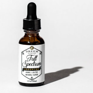 Dreem Full Spectrum Hemp Extract Oil - 30mL - 17mg/500mg