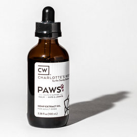 Charlotte's Web CW Paws Full Spectrum Hemp Extract Oil For Pets - 100mL - 25mg/2500mg