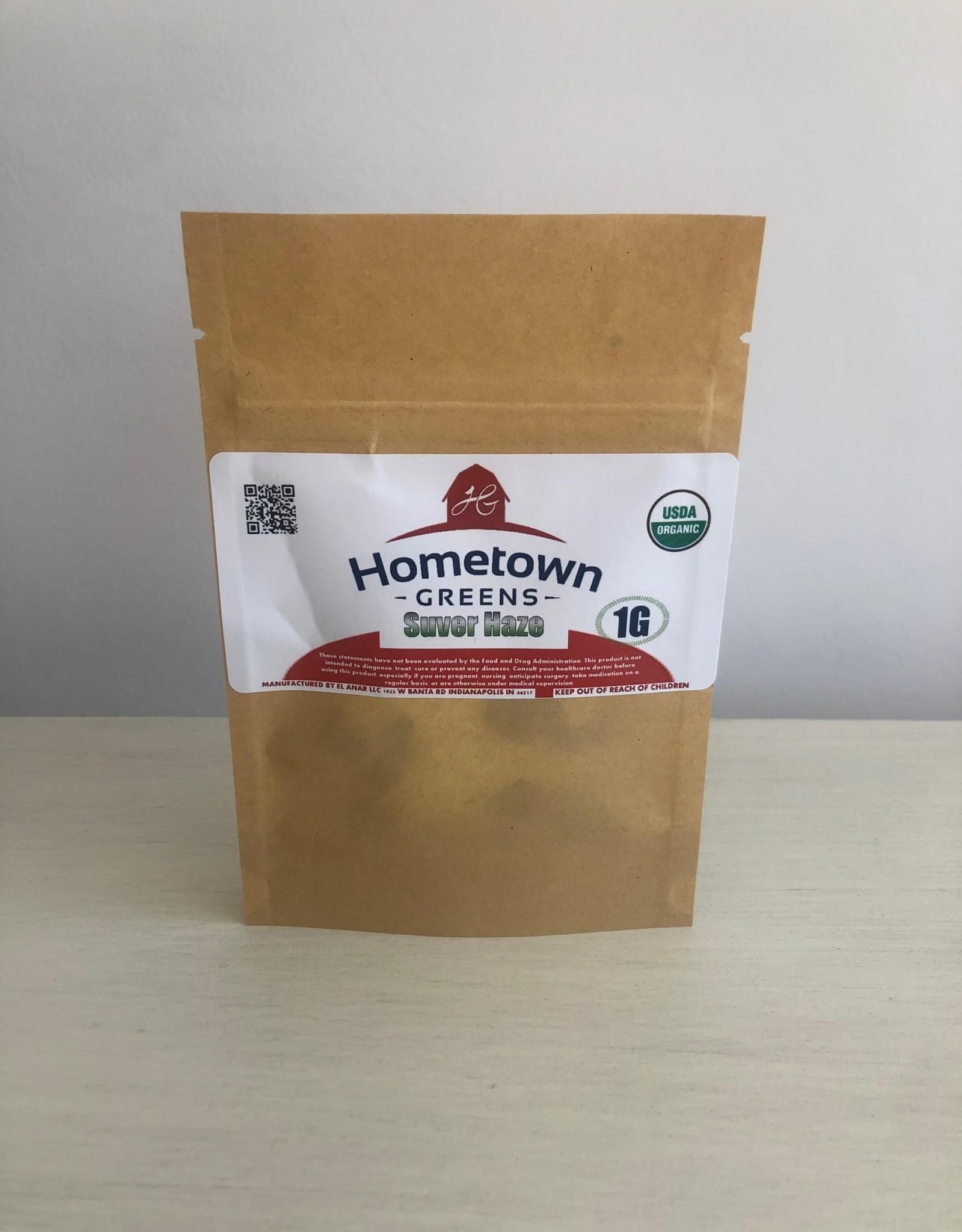 Hometown Greens Suver Haze Hemp Flower - 1g