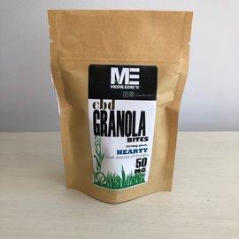 Medie Edie's Medie Edie's Hearty CBD Granola Bites - 5pc/10mg/50mg