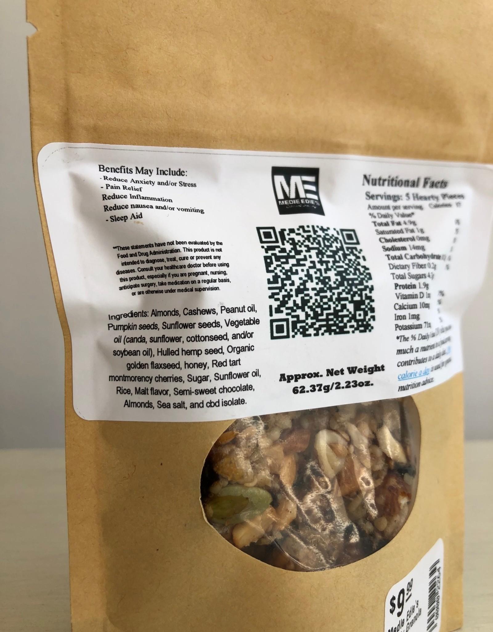 Medie Edie's Hearty CBD Granola Bites - 5pc/10mg/50mg