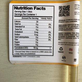 Pharm CBD Honey Sticks – 10 pack, 10 mg per stick