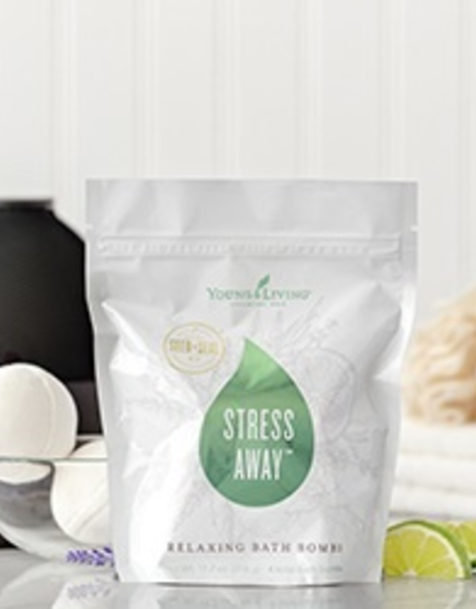 Young Living Stress Away Bath Bombs - 4pk