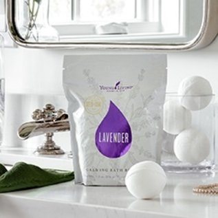 Young Living Lavender Bath Bombs - 4pk