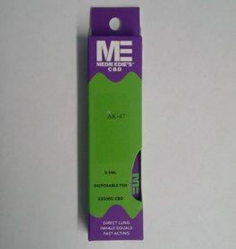 Medie Edie's Medie Edie's AK47 Disposable CBD Vape - 225mg - 0.5mL