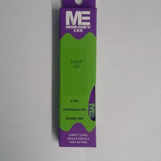 Medie Edie's Tangie OG Disposable CBD Vape - 225mg - 0.5mL