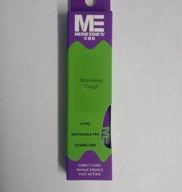Medie Edie's Medie Edie's Strawberry Cough Disposable CBD Vape - 225mg - 0.5mL