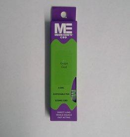 Medie Edie's Medie Edie's Grape God Disposable CBD Vape - 225mg - 0.5mL