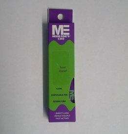 Medie Edie's Medie Edie's Sour Diesel Disposable CBD Vape - 225mg - 0.5mL