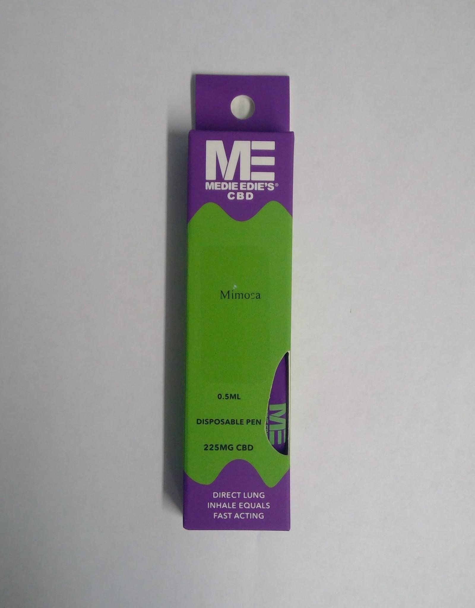 Medie Edie's Mimosa Disposable CBD Vape - 225mg - 0.5mL