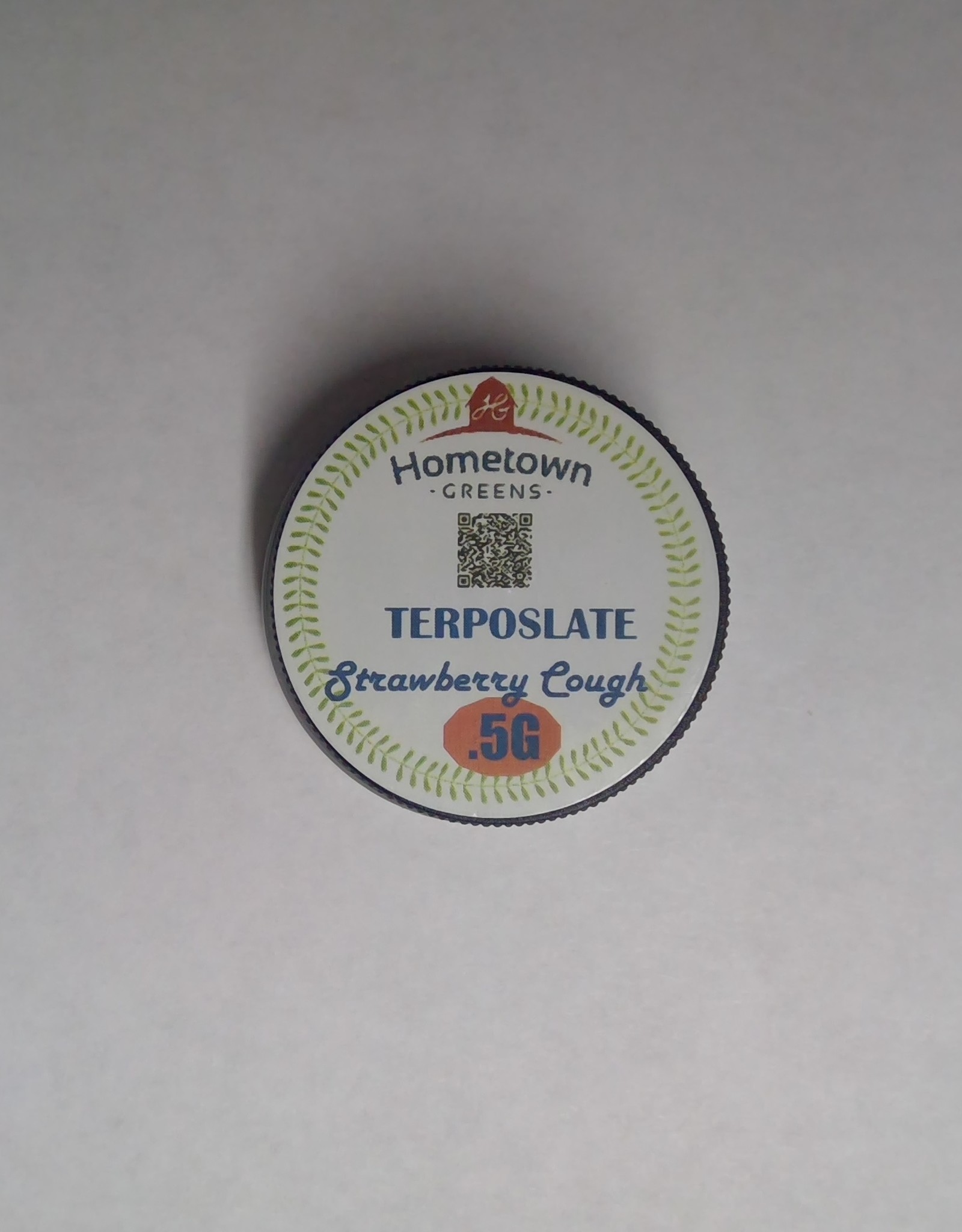 Hometown Greens Strawberry Cough Terposlate .5g