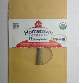 Hometown Greens Hometown Greens T2 (Stormy Daniels) Hemp Flower - Single Pre-Roll (0.8g)