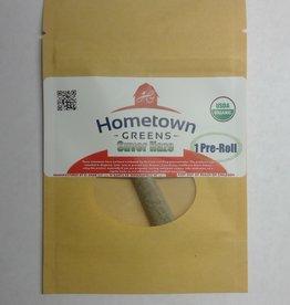 Hometown Greens Hometown Greens Suver Haze Hemp Flower - Single Pre-Roll (0.8g)