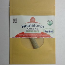 Hometown Greens Hometown Greens Suver Haze Hemp Flower - Single Pre-Roll (0.8g)