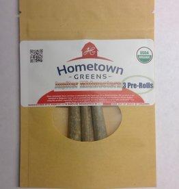 Hometown Greens Hometown Greens Jupiter Midwestern Hemp Flower - Pack of 3 Pre-Rolls (2.4g)