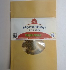 Hometown Greens Hometown Greens Purple Melon Hemp Flower -1g