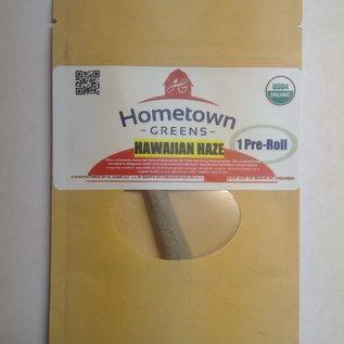 Hometown Greens Hawaiian Haze Hemp Flower - Single Pre-Roll (0.8g)