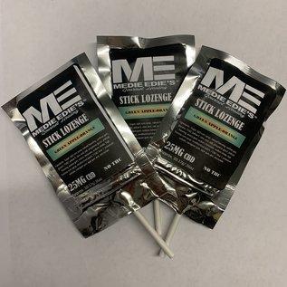 Medie Edie's Green Apple Orange CBD Stick Lozenge - 25mg