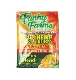 Funky Farms Funky Farms Citrus Blend Hemp Infused Drink Mix - 25mg