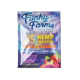 Funky Farms Funky Farms Berry Blend Hemp Infused Drink Mix - 25mg