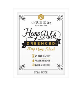 Dreem Dreem Hemp CBD Patch - 1ct/15mg