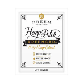 Dreem Dreem Hemp CBD Patch - 1ct/15mg