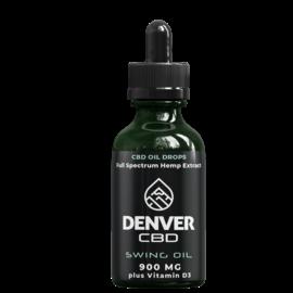Denver CBD Denver CBD Swing Oil 30 mL - 900 MG CBD with Vitamin D