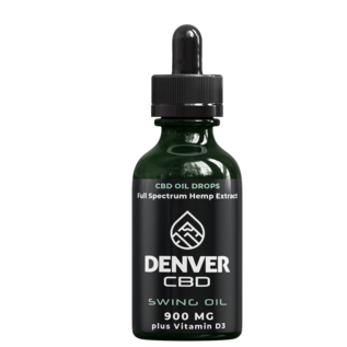 Denver CBD Swing Oil 30 mL - 900 MG CBD with Vitamin D