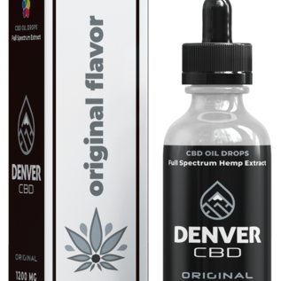 Denver CBD Original Hemp CBD Oil 1200 MG/30ML