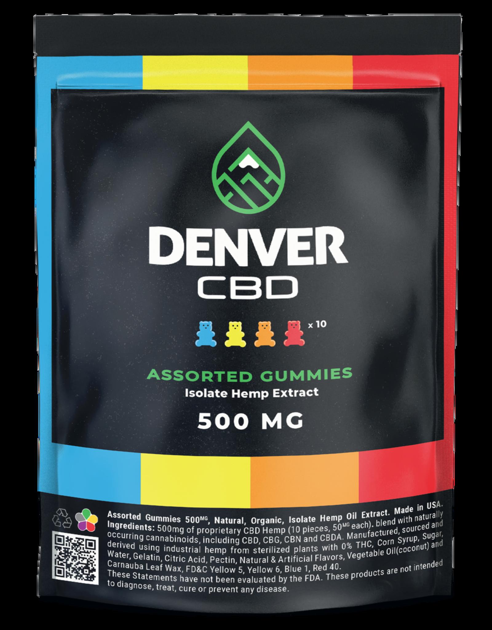 Denver CBD 50 mg Zero THC Isolate Gummy (10ct - 500mg total)