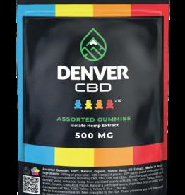 Denver CBD Denver CBD 50 mg Zero THC Isolate Gummy (10ct - 500mg total)