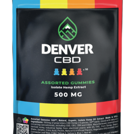 Denver CBD Denver CBD 50 mg Zero THC Isolate Gummy (10ct - 500mg total)