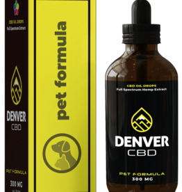 Denver CBD Denver CBD Small Breed Pet Formula - 300 MG (120mL)
