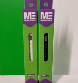 Medie Edie's Medie Edie's 510 Vape Battery - White
