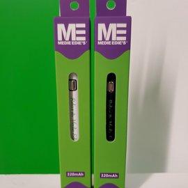 Medie Edie's Medie Edie's White 510 Vape Battery