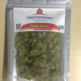 Hometown Greens Hometown Greens Purple Melon Hemp Flower - 28g